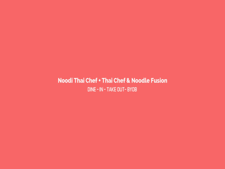 Noodi Thai Chef